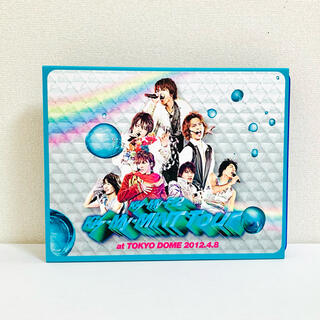 キスマイフットツー(Kis-My-Ft2)のKis-My-MiNT Tour 2012 (Blu-ray) 初回限定版(アイドル)