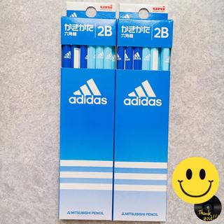 アディダス(adidas)の鉛筆 アディダス adidas 2B えんぴつ セット(鉛筆)