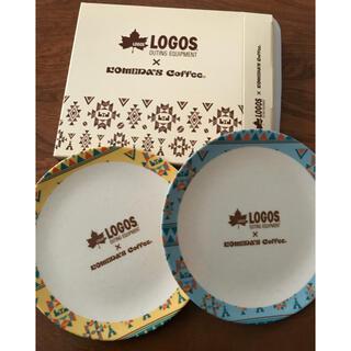 ロゴス(LOGOS)のコメダ珈琲×LOGOS ファイバープレート(ノベルティグッズ)