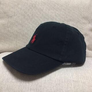 POLO RALPH LAUREN - 男女兼用新品ラルフローレンキャップ黒/赤