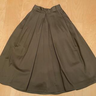 ディッキーズ(Dickies)のK3 x Dickiesコラボ ボリュームスカート カーキ(ロングスカート)