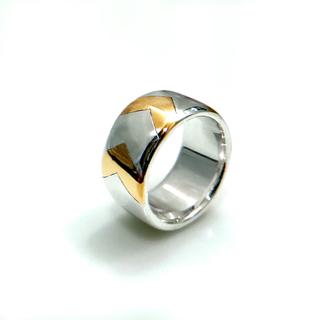 ティファニー(Tiffany & Co.)のVINTAGE Tiffany&Co. ティファニー コンビ リング (リング(指輪))