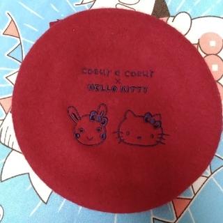 クーラクール(coeur a coeur)のクーラクール キティ ベレー帽 54cm キムラタン(帽子)