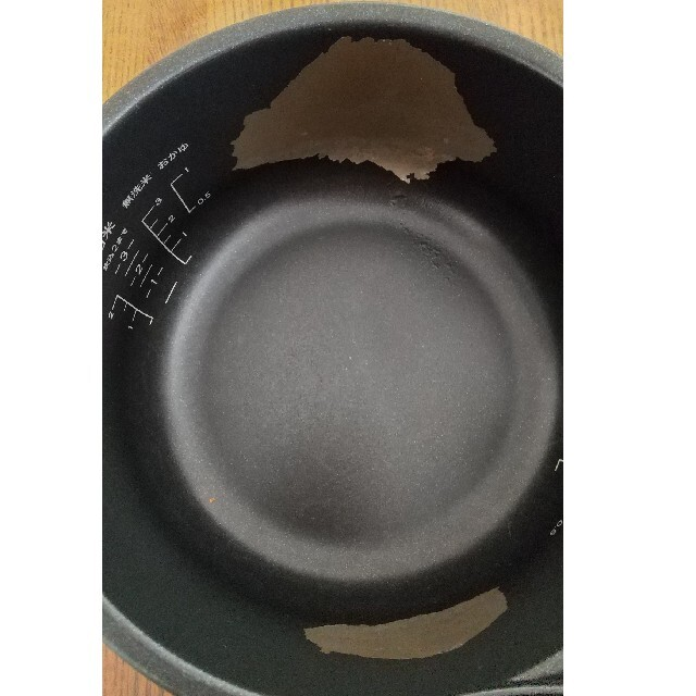 BALMUDA(バルミューダ)のバルミューダ 炊飯器 BALMUDA 中古 期間限定値下げ3月7日まで スマホ/家電/カメラの調理家電(炊飯器)の商品写真