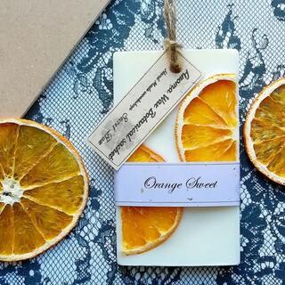 Orange 《RECTANGLE》 - アロマワックス・サシェ(アロマ/キャンドル)