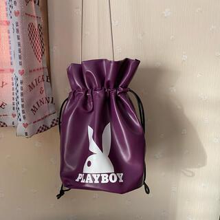 プレイボーイ(PLAYBOY)のプレイボーイ 紫ショルダーバック(ショルダーバッグ)