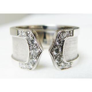 カルティエ(Cartier)のCartierカルティエ2C750WGK18金ホワイトゴールドダイヤモンドリング(リング(指輪))