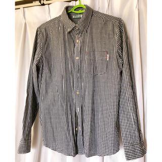 ウーム(WOmB)の【メンズ】WOmB  黒チェックシャツ(シャツ)