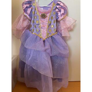 ディズニー(Disney)のラプンツェル 香港ディズニー コスプレ ドレス キッズ 116センチ 5歳 6歳(ドレス/フォーマル)