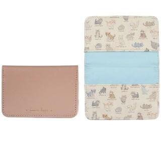 フランシュリッペ(franche lippee)のフランシュリッペ カードケース ねこ図鑑 未開封(キャラクターグッズ)
