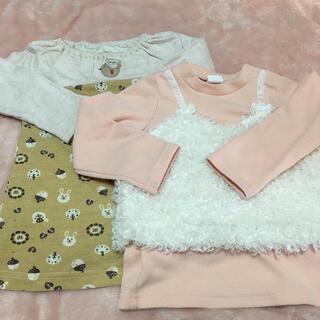 アカチャンホンポ(アカチャンホンポ)の女の子95 長袖 セット売り(Tシャツ/カットソー)