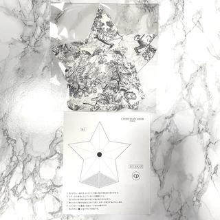 ディオール(Dior)のDior 伊勢丹新宿限定 ノベルティ 折り紙 スター(ノベルティグッズ)