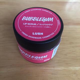 ラッシュ(LUSH)のLUSH リップスクラブ BUBBLEGUM バブルガム(リップケア/リップクリーム)