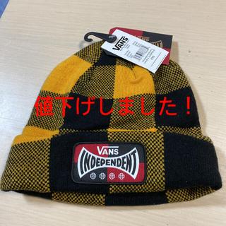 ヴァンズ(VANS)のニット帽 ニット キャップ VANS バンズ 子供用 キッズ(帽子)