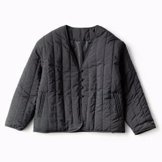 シマムラ(しまむら)のしまむら*チャイナボタンキルティングジャケット*Lサイズ(ノーカラージャケット)