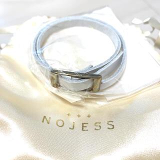 ノジェス(NOJESS)のノジェス レザー ブレスレット✨新品✨未使用です(ブレスレット/バングル)