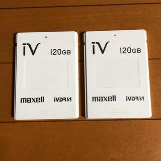 マクセル(maxell)のmaxell iVDR 120GB 2個(その他)