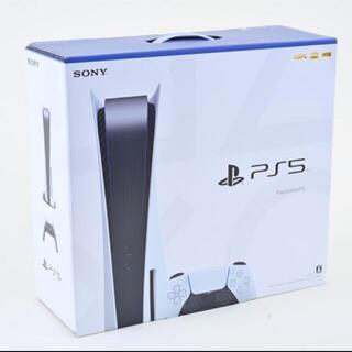 プレイステーション(PlayStation)の新品未開封 PlayStation5 本体CFI-1000A01ディスクドライブ(家庭用ゲーム機本体)