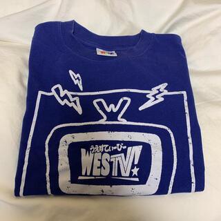 ジャニーズウエスト(ジャニーズWEST)のWESTV! Tシャツ ジャニーズWEST(Tシャツ(長袖/七分))