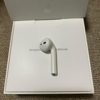 アップル(Apple)の美品 エアーポッズ AirPods 第二世代 R 右耳のみ 片耳(ヘッドフォン/イヤフォン)
