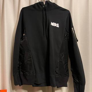 サカイ(sacai)のsacai x Nike hoodie L size(パーカー)