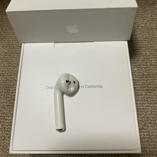 アップル(Apple)のジャンク エアーポッズ AirPods 第二世代 L 左耳のみ 片耳(ヘッドフォン/イヤフォン)