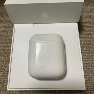 アップル(Apple)のエアーポッズ AirPods 第二世代 充電ケースのみ(ヘッドフォン/イヤフォン)