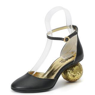 Maison Martin Margiela - MM6 Glittered Heel sandal レザーサンダル
