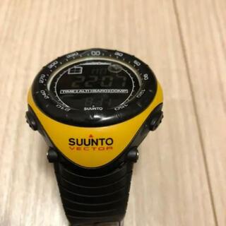 スント(SUUNTO)のSUUNTO vector yellow スントベクター(イエロー)(腕時計(デジタル))