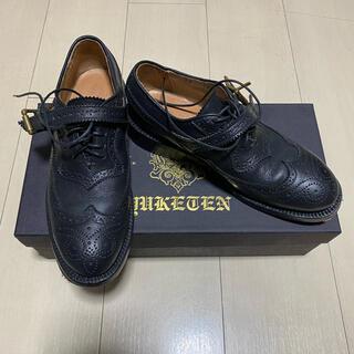 ユケテン ウィングチップ ドレスシューズ 23cm(ローファー/革靴)