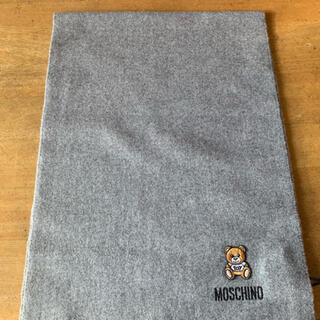 モスキーノ(MOSCHINO)の新品✨ モスキーノ MOSCHINO マフラー レディース M5293 グレー(マフラー/ショール)