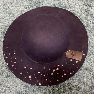 アナスイ(ANNA SUI)の新品アナスイANNA SUIの帽子お値下げ可(ハット)
