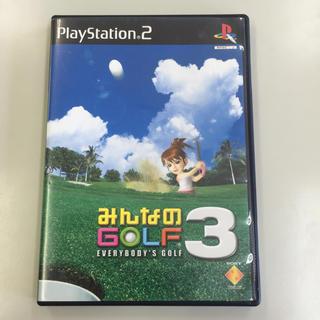 PS2みんなのゴルフ3(家庭用ゲームソフト)