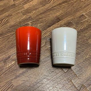 ルクルーゼ(LE CREUSET)のルクルーゼ ル・クルーゼ ペアタンブラー マグカップ (タンブラー)