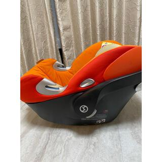 サイベックス(cybex)のCybex ATON Q(サイベックスエイトンQ)オレンジ(自動車用チャイルドシート本体)