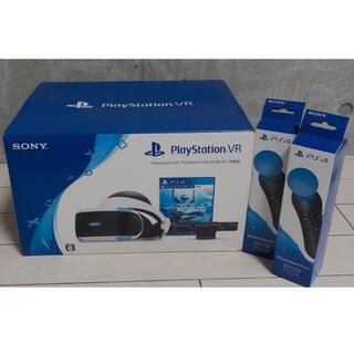 プレイステーションヴィーアール(PlayStation VR)の【未使用】PSVR モーションコントローラー2個付き(家庭用ゲーム機本体)
