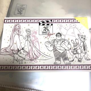 ディズニー(Disney)のディズニーストア 25周年アート(使用済み切手/官製はがき)