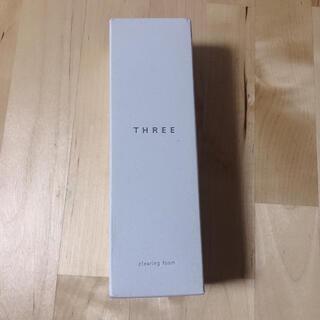 スリー(THREE)の【新品未使用☆】THREE クリアリングフォーム 100g(洗顔料)