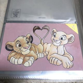 ディズニー(Disney)のライオンキング ポストカード(使用済み切手/官製はがき)