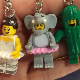 レゴ(Lego)のバレリーナ ぞうさん サボテンマン  新品をお届けします  レゴ、キーホルダー(その他)