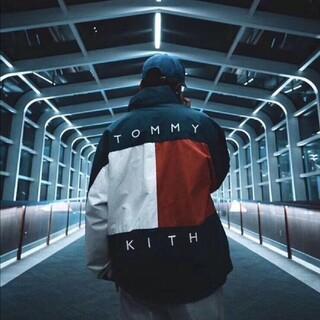TOMMY - tommy kith連名のカラー両面ジャケット