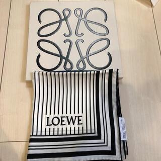 ロエベ(LOEWE)のロエベスカーフ☆お値下げ☆ぷーこさま専用(バンダナ/スカーフ)