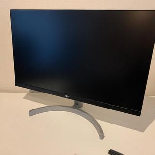 エルジーエレクトロニクス(LG Electronics)のLG フレームレス モニター ディスプレイ 24ML600S-W 23.8インチ(PC周辺機器)