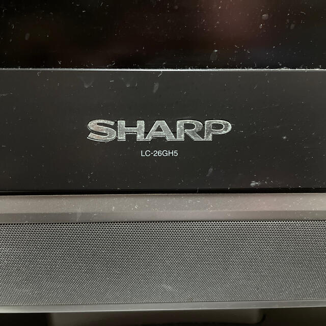 AQUOS(アクオス)のシャープ AQUOS ジャンク リモコンなし スマホ/家電/カメラのテレビ/映像機器(テレビ)の商品写真