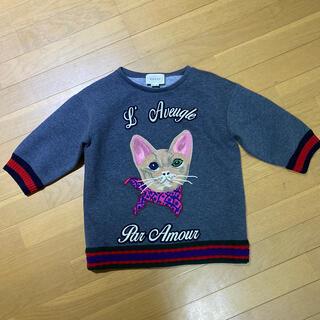 グッチ(Gucci)のグッチ チルドレン猫トップス 大人もオッケー 12A gucci(Tシャツ/カットソー)
