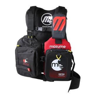 mazume レッドムーンライフジャケット マズメ MZLJ-401 ブラック(ウエア)