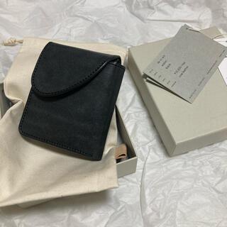 エンダースキーマ(Hender Scheme)の【Hender Scheme / エンダースキーマ】wallet ブラック(折り財布)