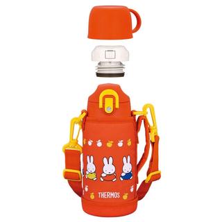 サーモス(THERMOS)の★ サーモス 水筒 直飲み ステンレスボトル 真空断熱 ミッフィー オレンジ(水筒)