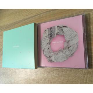 バックナンバー(BACK NUMBER)のback number CD・DVD【初回限定盤】(ポップス/ロック(邦楽))