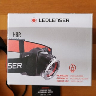 レッドレンザー(LEDLENSER)のLEDLENSER H8R バンド新品 大容量充電池新品(ライト/ランタン)